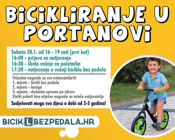 Ovu godinu zapocinjemo s bicikliranjem u Portanovi