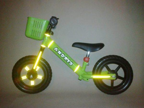 Trake za odbijanje svjetla - bicikl bez pedala