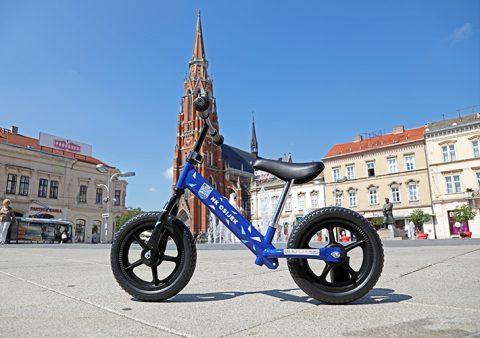 Jedinstveni NK Osijek bicikl